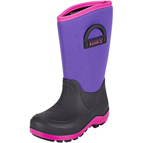 Kamik Bluster Rubber Boots Kids Purple